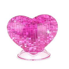 رخيصةأون -قطع تركيب3D تركيب كريستال ألعاب شكل قلب الورود 3D قلب بلاستيك غير محدد قطع