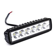 Недорогие Фары для мотоциклов-ZIQIAO 2pcs Автомобиль Лампы W lm Светодиодная лампа Рабочее освещение