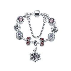 Női Elbűvölő karkötők Barátság Divat Ötvözet Round Shape Flower Shape Ékszerek Mert Karácsonyi ajándékok 1db