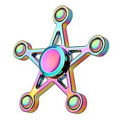 voordelige Fidget spinners-Fidget spinners Hand Spinner Speeltjes Vijf Spinner Kantoor Bureau Speelgoed voor Killing Time Focus Toy Relieves ADD, ADHD, Angst,
