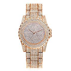 お買い得  大特価腕時計-女性用 クォーツ リストウォッチ 中国 クール ステンレス バンド カジュアル / ファッション シルバー / ゴールド
