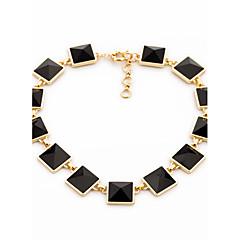 abordables Collares-Mujer Collar de hebras - damas, Diseño Único Negro Gargantillas Joyas Para Regalo, Diario
