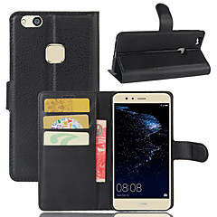 cheap Cases / Covers for Huawei-The Lychee Stripe Card Holder Protects The Leather Case for The  Huawei Series