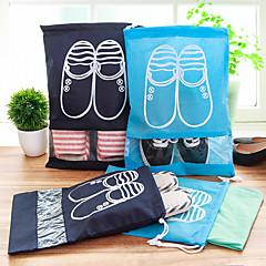 حقيبة الحذاء حقيبة سفر للأحذية سريع جاف مكتشف الغبار قابلة للطى خفيف جدا (UL) تخزين السفر سميك إلى ملابس قماش / السفر