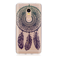 billige Etuier til Xiaomi-Til xiaomi redmi note 4 note 3 3s case cover dream catcher mønster bagcover soft tpu redmi note