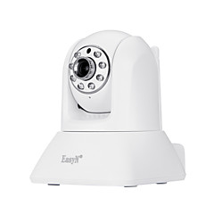 Easyn® 1.0 mp indoor camera onbesneden dag nacht bewegingsdetectie dual stream remote access wi-fi protected setup