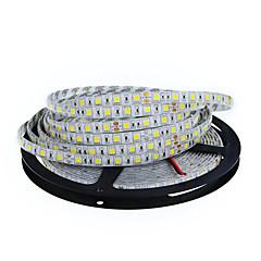 저렴한 -40W 유연한 LED 조명 스트립 3900-4200 DC12 5m 300 LED가 웜 화이트 화이트