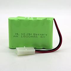 hesapli -Ni-MH batarya aa 1800mAh 6v