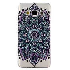 Kılıf Na Samsung Galaxy A5(2017) A3(2017) Przezroczyste Wytłaczany wzór Wzór Etui na tył Mandala Miękkie TPU na A3 (2017) A5 (2017) A5 A3