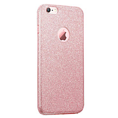 voordelige iPhone 6s Plus hoesjes-Voor iPhone 8 iPhone 8 Plus Hoesje cover IMD Achterkantje hoesje Glitterglans Zacht TPU voor Apple iPhone 7s Plus iPhone 8 iPhone 7 Plus