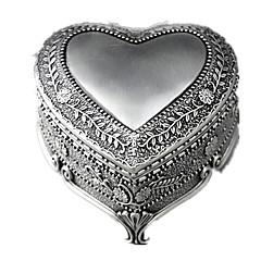 olcso -Zenedoboz Játékok Négyzet Szív alakú Szív Fém Romantikus Darabok Uniszex Születésnap Ajándék