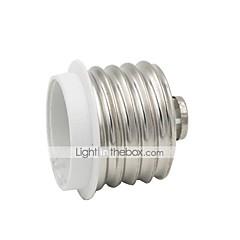 billige LED-tilbehør-1 stk E40 til E27 E27 Lysstik