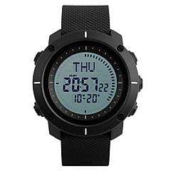 SKMEI Ανδρικά Αθλητικό Ρολόι Στρατιωτικό Ρολόι Μοδάτο Ρολόι Ρολόι Καρπού Ψηφιακό ρολόι Ιαπωνικά Ψηφιακό LED Compass Ημερολόγιο