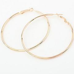 preiswerte Ohrringe-Damen Logo Ohrstecker / Tropfen-Ohrringe / Kreolen - Freunde Personalisiert, Luxus, Einzigartiges Design Gold / Silber Für Weihnachts Geschenke / Hochzeit / Party