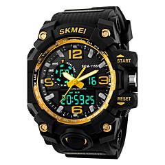 お買い得  大特価腕時計-SKMEI 男性用 デジタル デジタルウォッチ スポーツウォッチ アラーム カレンダー シリコーン バンド クール ブラック