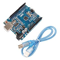 Χαμηλού Κόστους Μητρικές πλακέτες-Βελτιωμένη έκδοση uno r3 atmega328p συμβούλιο συμβατή για arduino