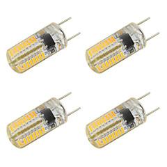preiswerte LED-Birnen-4pcs 3W 350-400lm LED Doppel-Pin Leuchten T 64 LED-Perlen SMD 3014 Warmes Weiß Kühles Weiß 220-240V