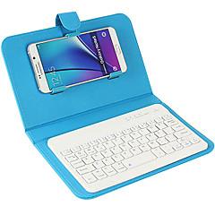 Для крышки корпуса с подставкой с клавиатурой флип полный корпус корпуса сплошной цвет твердая кожа pu для универсального iphone 7 7 плюс