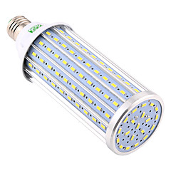 YWXLight® 60W E27 LED Corn Lights 160 SMD 5730 5850-5950 lm Warm White Cold White Natural White Decorative AC 110V/220V 1pc