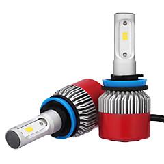 Недорогие Автомобильные фары-2pcs H8 / H11 / H9 Автомобиль Лампы 36W Интегрированный LED 3600lm Светодиодная лампа Налобный фонарь