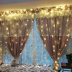 お買い得  LED ストリングライト-3M ストリングライト 240 LED EL 温白色 / ホワイト パーティー / ウェディング / クリスマスウェディングデコレーション 220-240 V / 110-120 V 1セット / # / IP44