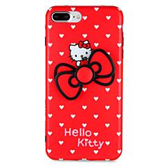 Til Apple iPhone 7 7plus Case Cover Fidget Spinner Pattern Bag Cover Case Cartoon Heart Soft TPU 6s plus 6 plus 6s 6