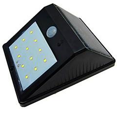 voordelige Buitenlampen-1 stks solar bewegingssensor licht outdoor ip65 waterdichte led-nachtlampje voor tuin diveway patio