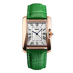 voordelige -Heren Sporthorloge Dress horloge Modieus horloge Polshorloge Unieke creatieve horloge Chinees Digitaal Waterbestendig Echt leer Band