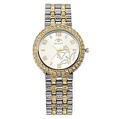preiswerte Tolle Angebote auf Uhren-Damen Armbanduhr Schlussverkauf / Cool / / Legierung Band Freizeit / Modisch / Elegant Silber / Gold