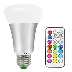 preiswerte LED-Birnen-1pc 10 W 700 lm E26 / E27 Smart LED Glühlampen 16 LED-Perlen SMD 5050 Ferngesteuert / Dekorativ / Farbverläufe Warmes Weiß / RGB 85-265 V / 1 Stück / RoHs