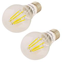 7W Ampoules Globe LED 6 COB 600 lm Blanc Chaud 3000 K V