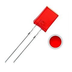 100個の2×5×7ミリメートル赤LEDのダイオードライト