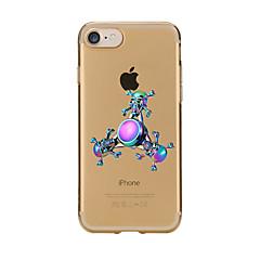 Til Etuier Mønster Fidget Hand Spinner Bagcover Etui Tegneserie Blødt TPU for AppleiPhone 7 Plus iPhone 7 iPhone 6s Plus iPhone 6 Plus