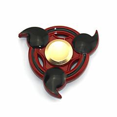 voordelige Fidget spinners-Fidget spinners Hand Spinner Speeltjes Tri-Spinner Stress en angst Relief Kantoor Bureau Speelgoed voor Killing Time Focus Toy Relieves