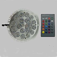 お買い得  LED 電球-12W 900lm E27 成長する電球 18 LEDビーズ ハイパワーLED RGB 85-265V