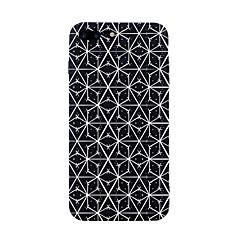Недорогие Кейсы для iPhone 7-Кейс для Назначение Apple iPhone 7 Plus iPhone 7 С узором Кейс на заднюю панель Полосы / волосы Плитка Геометрический рисунок Мягкий ТПУ