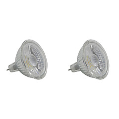 preiswerte LED-Birnen-5W 350-400 lm GU5.3 LED Spot Lampen MR16 1 Leds COB Warmes Weiß Weiß