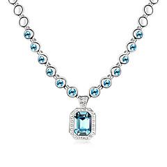 Жен. Ожерелья-цепочки Бижутерия Бижутерия Хрусталь Сплав Мода Euramerican Бижутерия Для Свадьба Для вечеринок 1шт