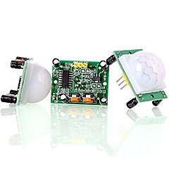 お買い得  センサー-hc-sr501赤外線パイロモーションセンサーセンサーモジュール(3pcs)を調整する