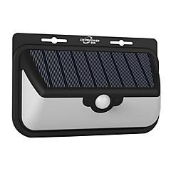 abordables Sistemas de Alarma-Luz de la pared solar al aire libre cuerpo humano sensing luz hogar iluminación solar farola 48 led patio luz del paisaje
