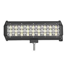 baratos -81w-row 8100lm spot de inundação do fascio led barra de luz de trabalho offroad led conduzindo lampada 12 v 24 v por camion suv atv 4x4