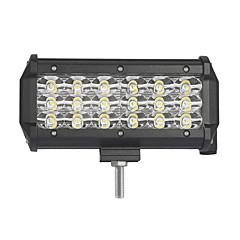 54w - 행 5400lm 홍수 스포트 del fascio led 작업 표시 줄 offroad led lampada 12 v 24 v vs camion suv atv 4x4 4wd led bar