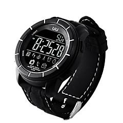 voordelige Smartwatches-Smart horloge Waterbestendig Verbrande calorieën Stappentellers Logboek Oefeningen Spraakbesturing Informatie Berichtenbediening
