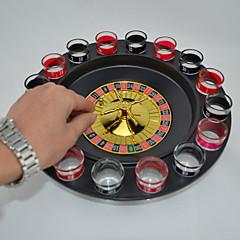 abordables Juegos de Mesa-Juegos de Mesa Artículos de Bar Ruletas Plásticos Vidrio Piezas Chico Niños Adulto Regalo