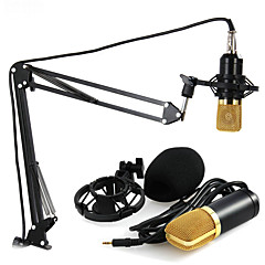 abordables Micrófonos-Alámbrico Micrófono de Ordenador 3.5mm