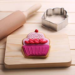 1 bageform Sovende Baby Til Kage Til Chokolade til brød Til Cookies til sandwich Rustfrit stålValentinsdag Thanksgiving Gør Det Selv 3D
