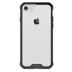 Для яблока iphone 7 7 плюс 6s 6 плюс крышка корпуса высокая проникающая акриловая задняя панель тп-рамка комбинированный доспех корпуса
