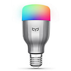 voordelige LED-lampen-Xiaomi 1pc 9W 600lm E26 / E27 Slimme LED-lampen 19 LED-kralen SMD Werkt met Amazon Alexa Google Home Warm wit Koel wit RGB 220-240V