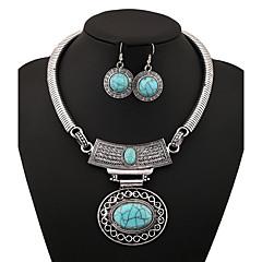 ieftine -Pentru femei Seturi de bijuterii Vintage Petrecere Zilnic Aliaj Oval