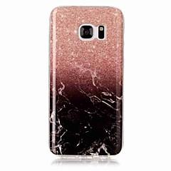 voordelige Galaxy S3 Hoesjes / covers-hoesje Voor Samsung Galaxy S8 Plus S8 IMD Achterkantje Marmer Zacht TPU voor S8 S8 Plus S7 edge S7 S6 edge S6 S5 S4 S3